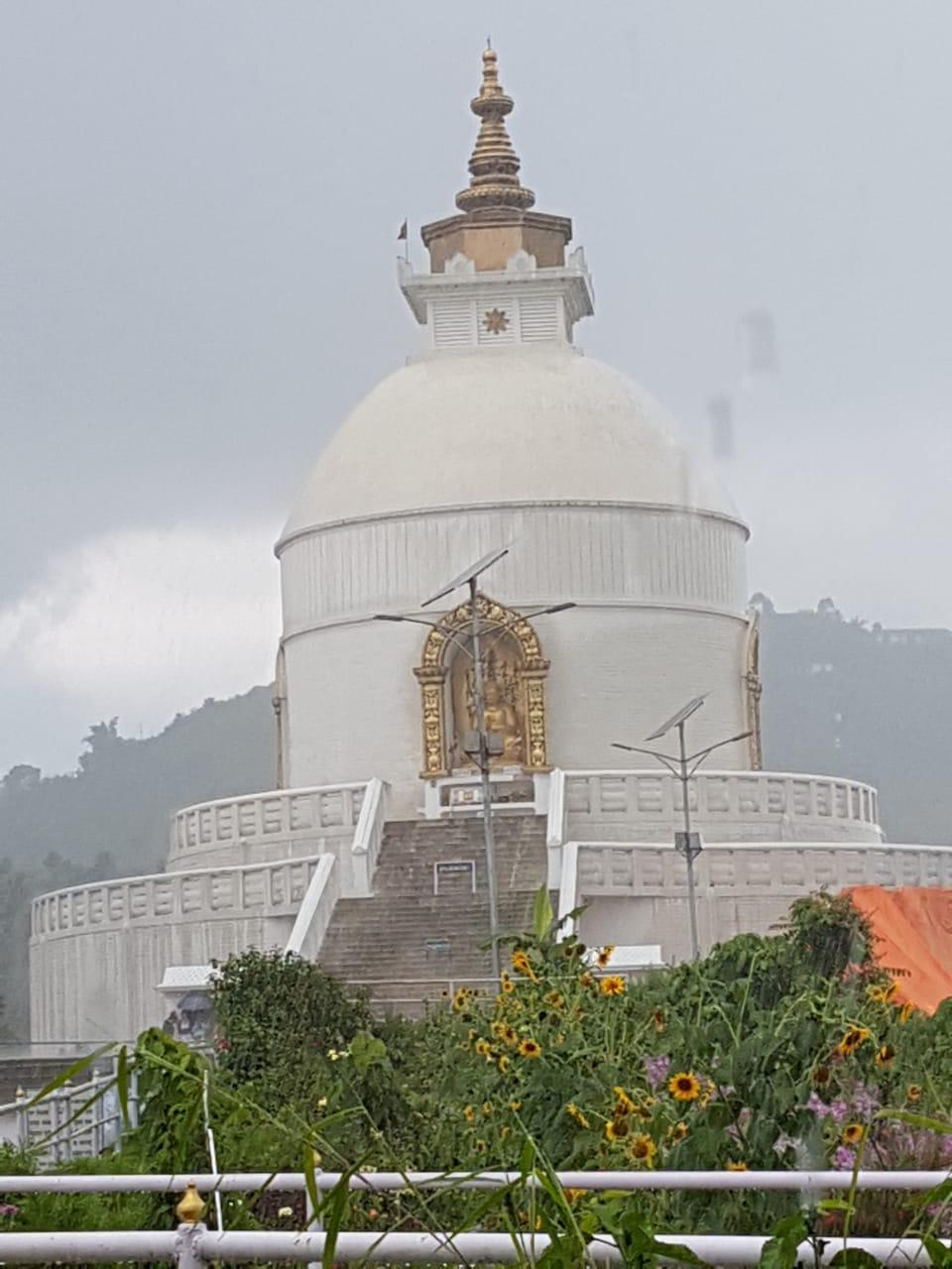 Shanti peace pagoda