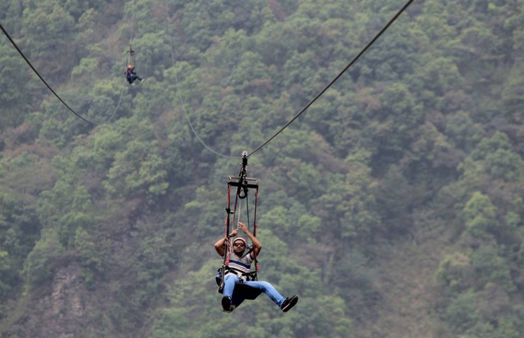 Zip flying pokhara