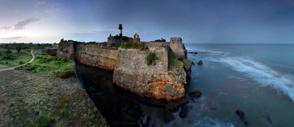 diu fort portuguese architecture