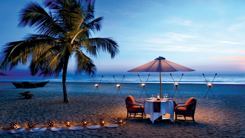 candleit dinner in andaman island