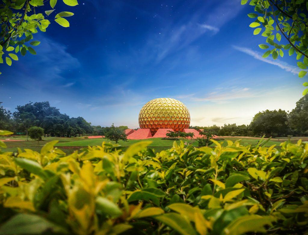 pondicherry honeymoon in auroville