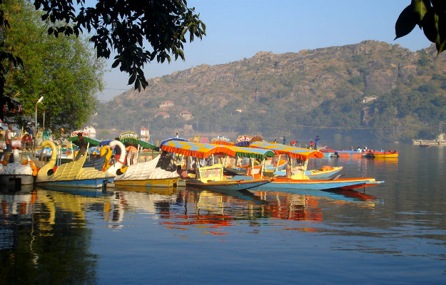 nakki lake mount abu for boating