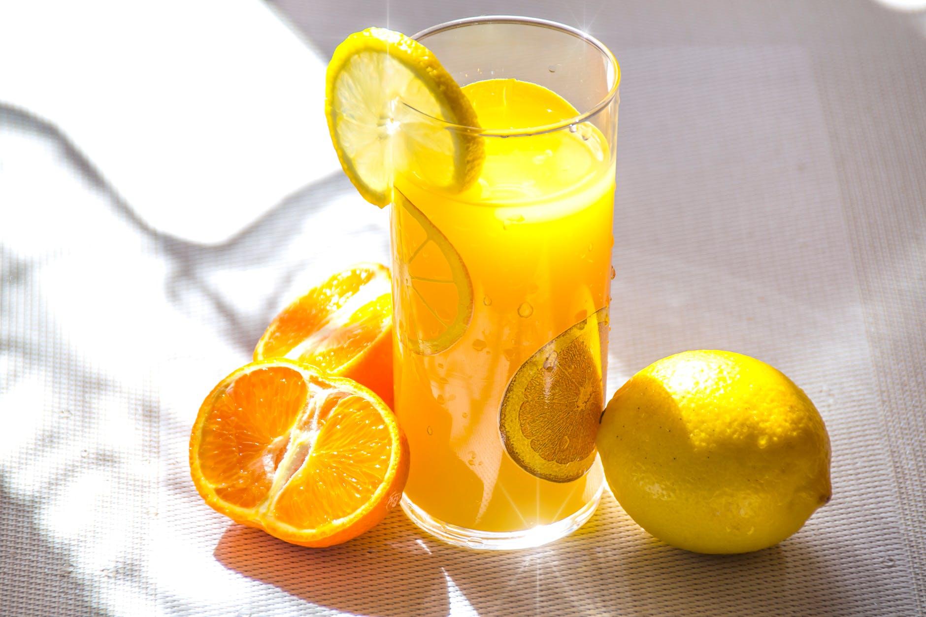 fruit orange juice
