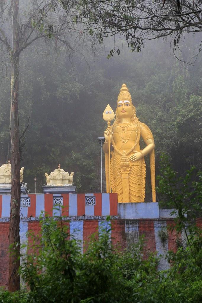elk hill murugan temple ooty
