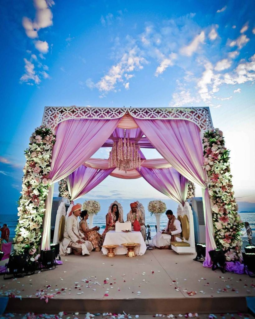 Beach side destination wedding visakhapatnam