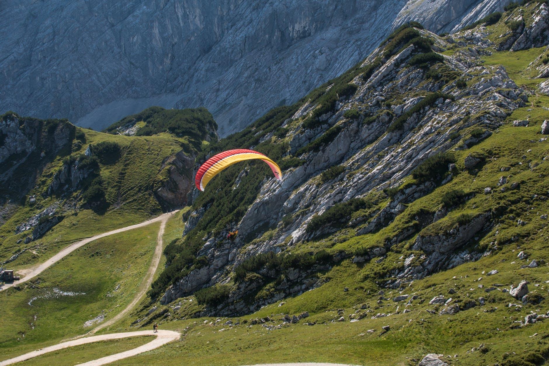 parasailing and zip lining