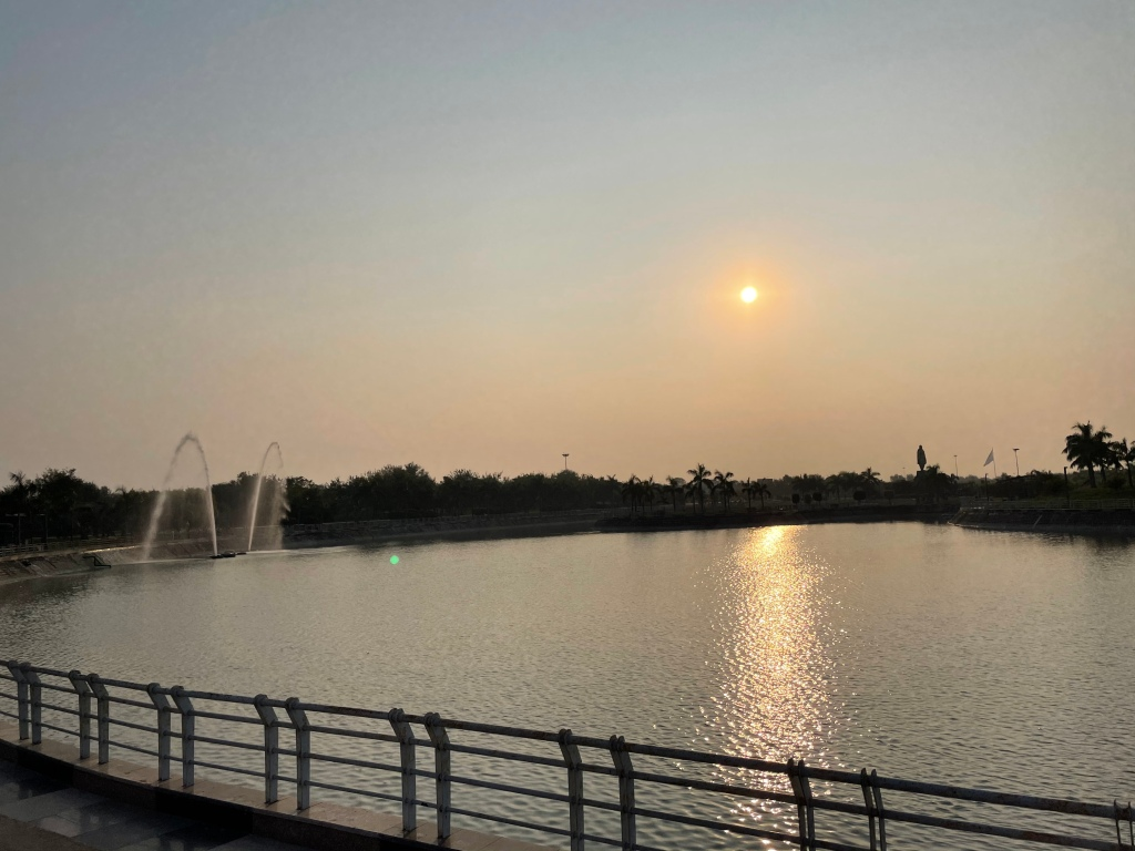 best sunset view point in Lucknow