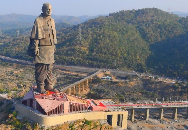 statue of unity world's tallest statue