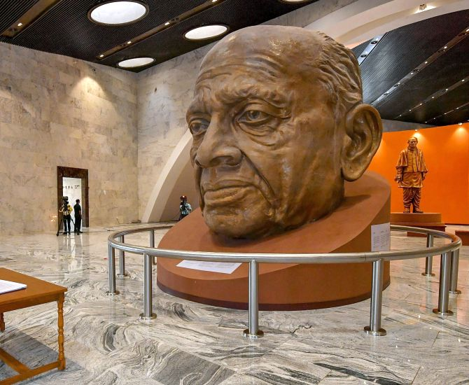 statue of unity museum and exhibition hall